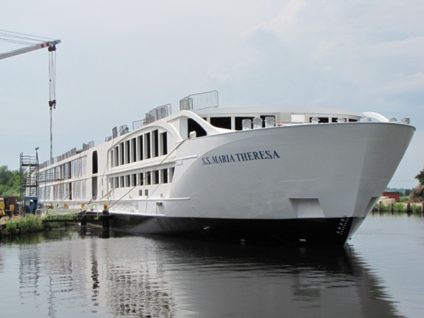 Boutique River Ship S.S. Maria Theresa - Heating by Speedheat Floor Heating