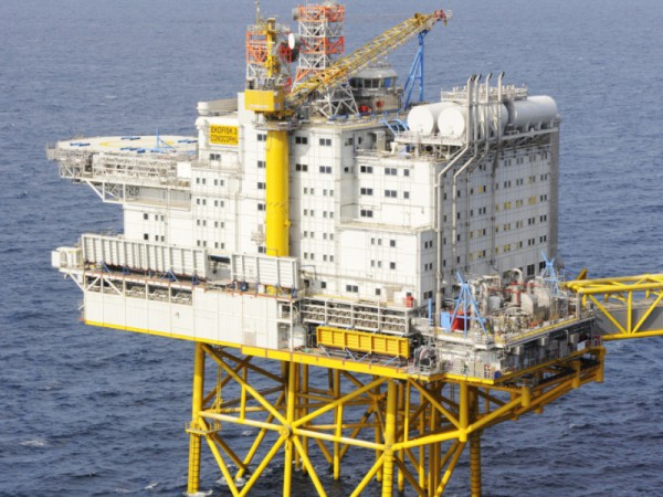 EKOFISK Oil Rig, Norway - Heating by Speedheat Floor Heating